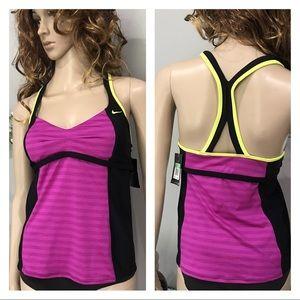 NWT Nike Sport Tankini Bathing Suit Top